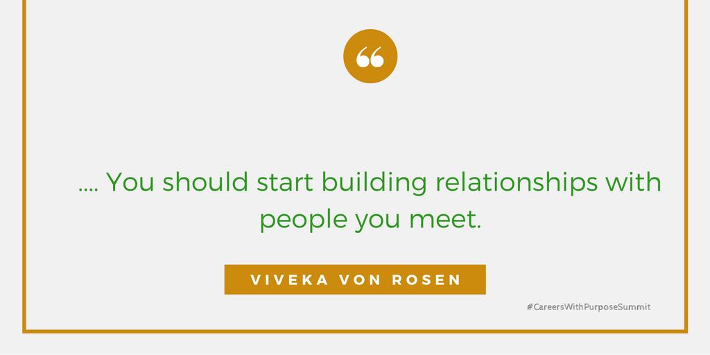 careers with purpose summit viveka von rosen